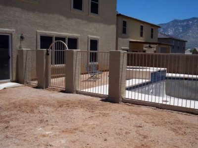 IF101-4 A/T Pool Fence