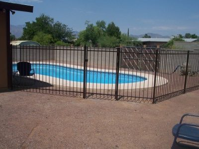 IF100-19 ST Pool Fence