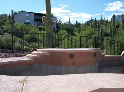IF100-18 ST Pool Fence