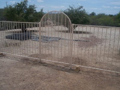 IF100-11 ST Pool Fence