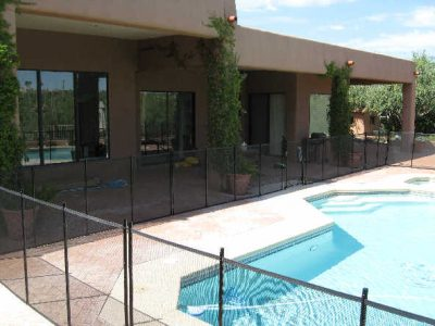 Removable Mesh Pool Fences 183 Affordable Fence Amp Gates