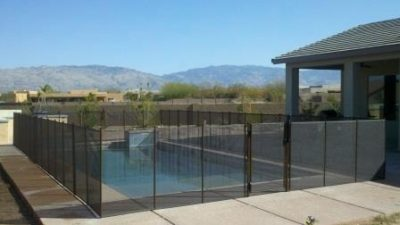 Removable Mesh Pool Fence | RM122