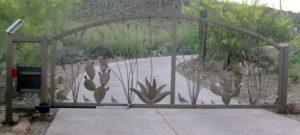 Driveway Gate | Double Gate | Southwestern Style Gate