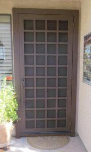 Security Door | Ornamental Iron Security Door