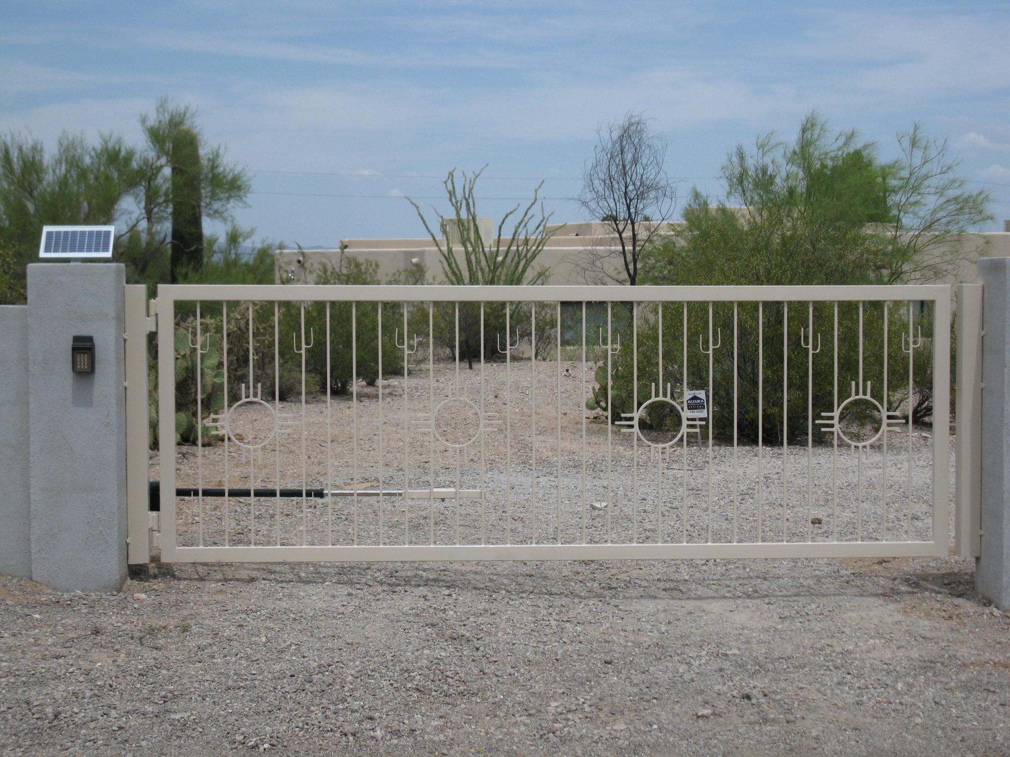 Driveway Gate | Southwestern Style Gate