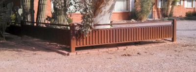 Corrugated Steel Fence | CF200