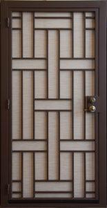 Security Door | Custom Built Security Door | Contemporary