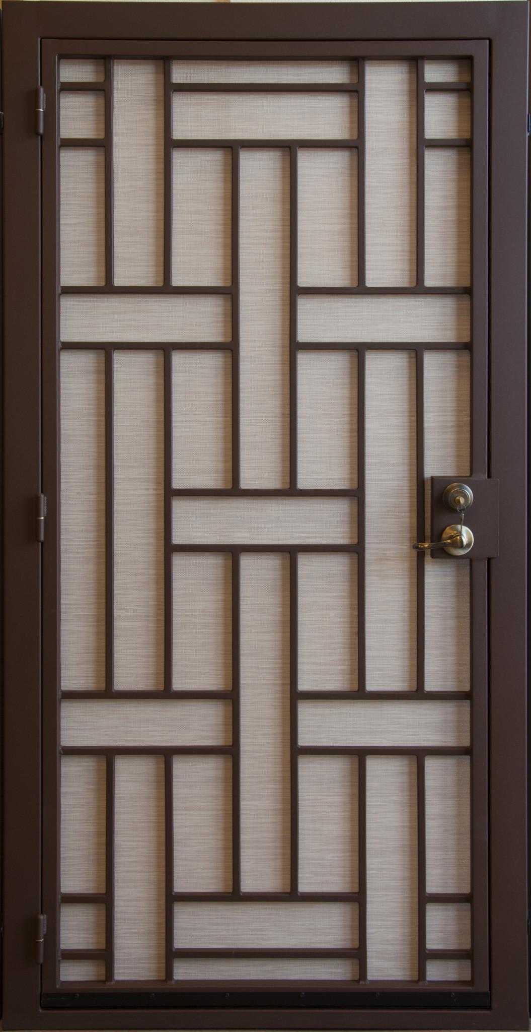Security Door | Custom Built Security Door | Contemporary