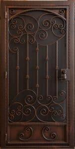 Security Door | Custom Built Security Door | Tucsan Style Security Door