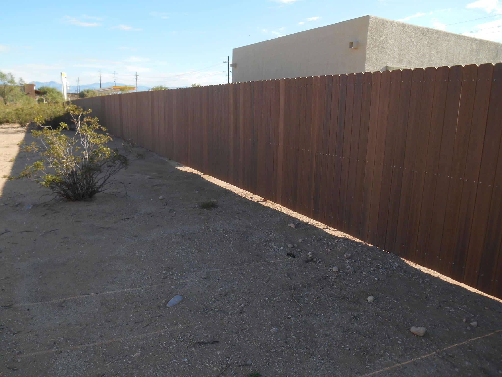 Synthetic Wood Fences Affordable Fence And Gates