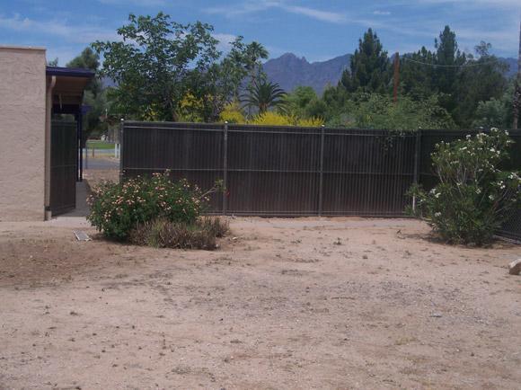 Corrugated Steel Fence   Metal Fence