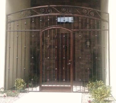 Ornamental Iron Enclosures 183 Affordable Fence Amp Gates