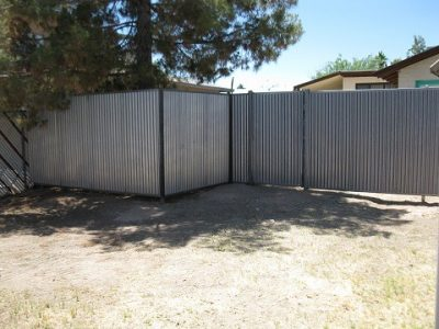 Corrugated Steel Fence | CF213