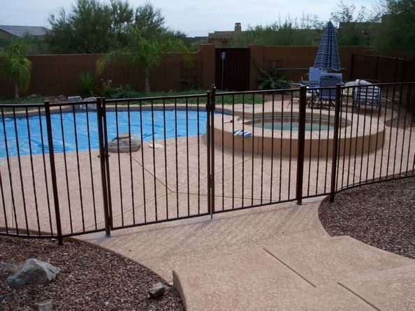 IF101-1 A/T Pool Fence