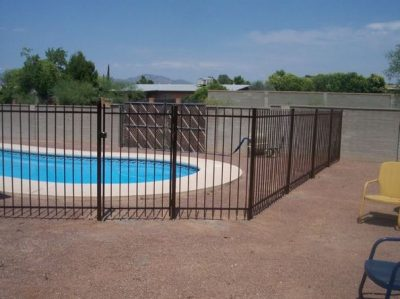 IF107 E/P P Pool Fence