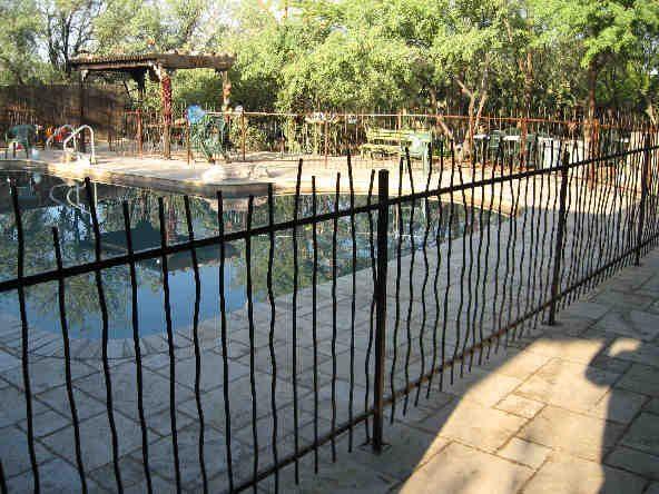 IF300-1 Rebar Pool Fence