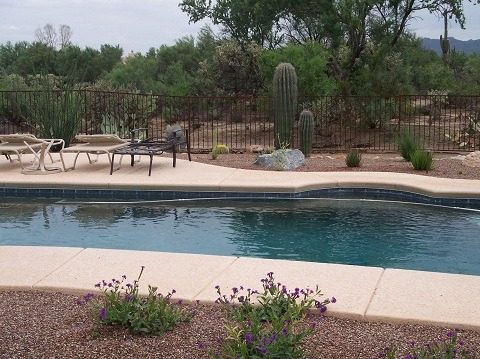 IF100-17 ST Pool Fence