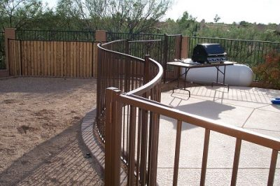 IF100-16 ST Pool Fence