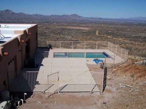 IF100-15 ST Pool Fence