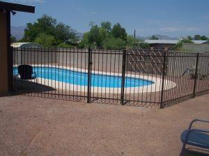 Pool Fence - Small Installation near Marana AZ IF100-19 ST