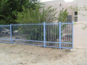 Punched Wrought Iron Fence IF104-3 EP