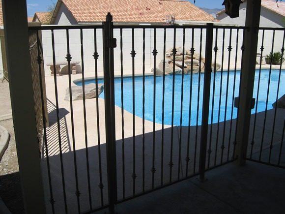 IF110 K Pool Fence