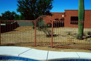 Wrought Iron Pool Fence Gate IF204-2