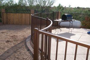 Wrought Iron Pool Fence IF100-16 ST