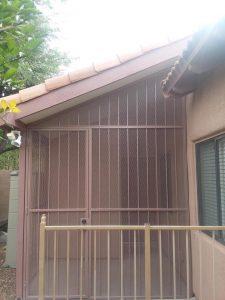Porch enclosure - Security enclosure 20171107 102659 - Made in Tucson