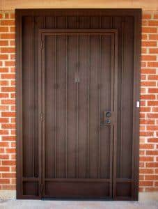 Security Door with Knuckles 5006 E - Made in Tucson