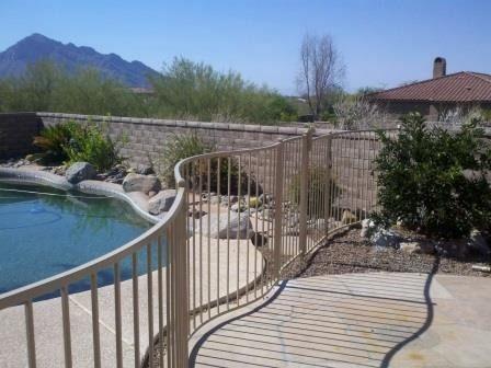 Pool Fence | IF100-23  ST Pool Fence