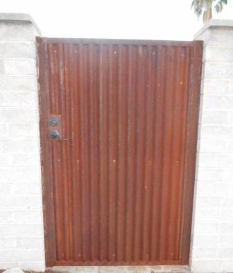 Corrugated Steel Gate | CG110