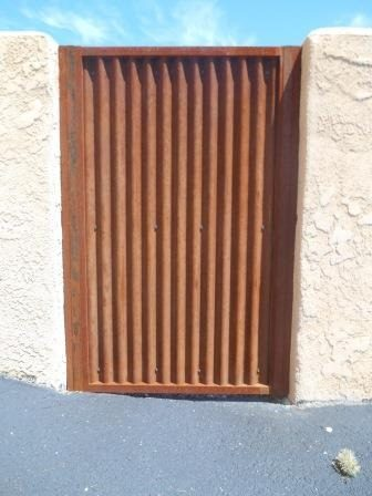 Corrugated Steel Gate | CG111