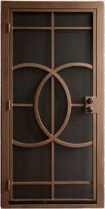 Security Door | Security Door with Abstract Design