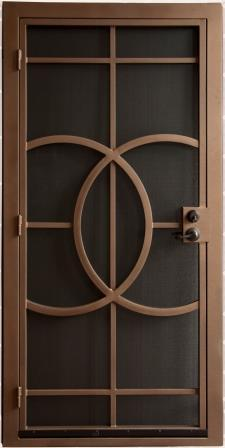 Security Door | Security Door with Abstract Design