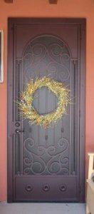 Security Door | Single Security Door | Tuscan Style Security Door