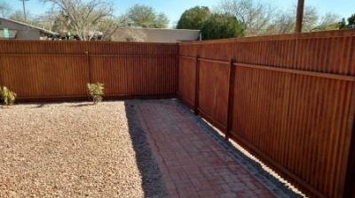 Corrugated Steel Fence | CF243