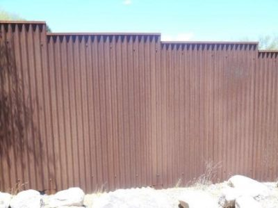 Corrugated Steel Fence | CF250-2