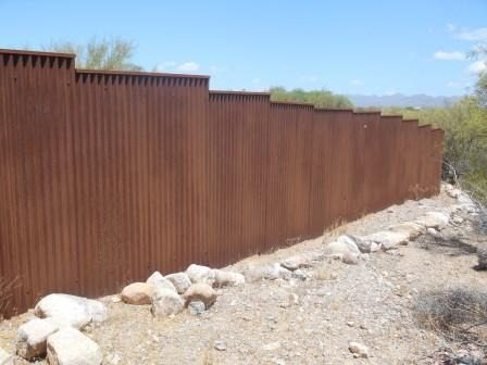 Corrugated Steel Fence | CF250