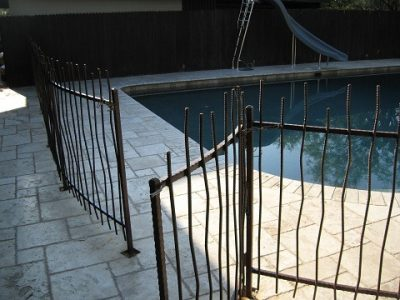 Pool Fence | IF300 IF Rebar Pool Fence