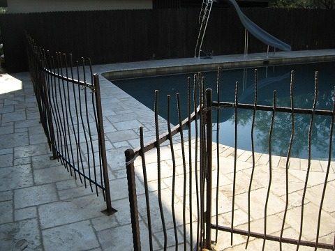 Pool Fence   IF300 IF Rebar Pool Fence