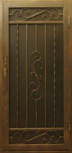 Security Door, Metal Security Door, Ornamental Iron