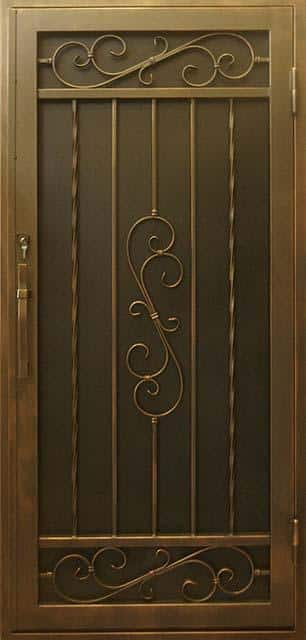 Security Door, Metal Security Door, Ornamental Iron
