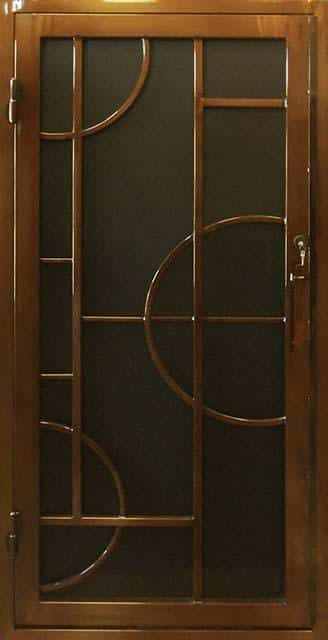 Security Door, Metal Security Door, Ornamental Iron, Contemporary Security Door