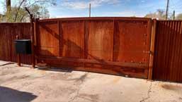 Corrugated Steel Gate 274 CF