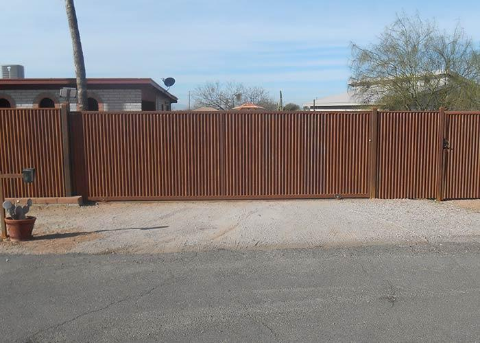 Corrugated Steel Fencing - Corrugated Metal Fence