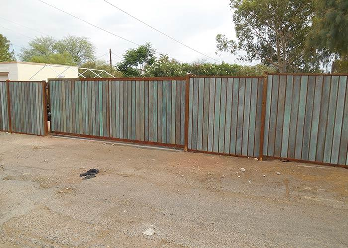 Iron Wood Fencing