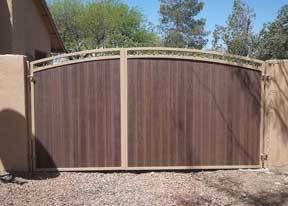 Iron Wood Gates