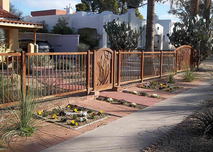Tucson Fence Gates And Security Doors Affordable Fence