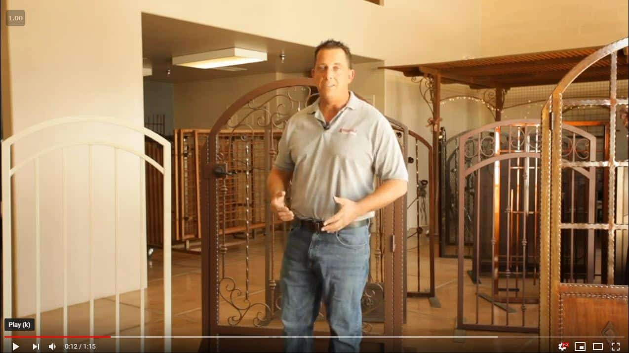 Pricing for ornamental iron gates